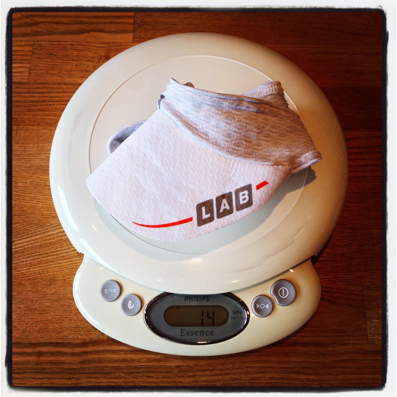 'nuff said, vægten kan der ikke klages på! 14 gram på min vægt.