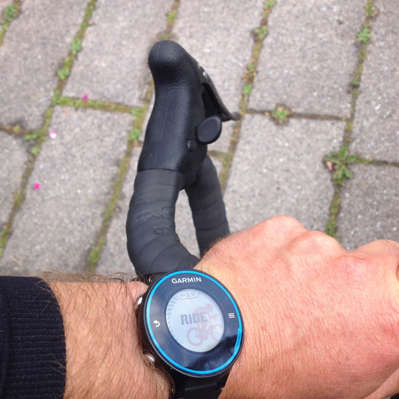 Den længe ventede aktivitetsprofil for cykling er nu på Forerunner 620.