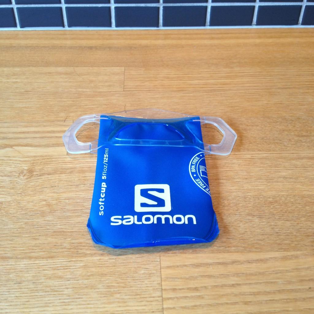Salomon Soft Cup er desværre for lille til at kunne godkendes til brug ved UTMB.