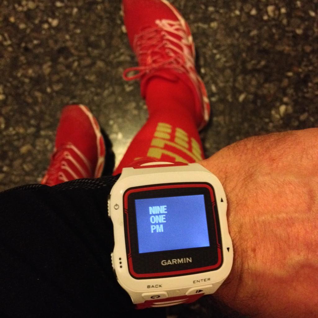 Ur-visningen Text My Time viser klokken i ren tekst. En anderledes måde som faktisk ser godt ud på skærmen.