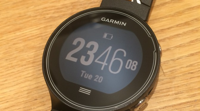 Garmin Forerunner 630 hands-on preview