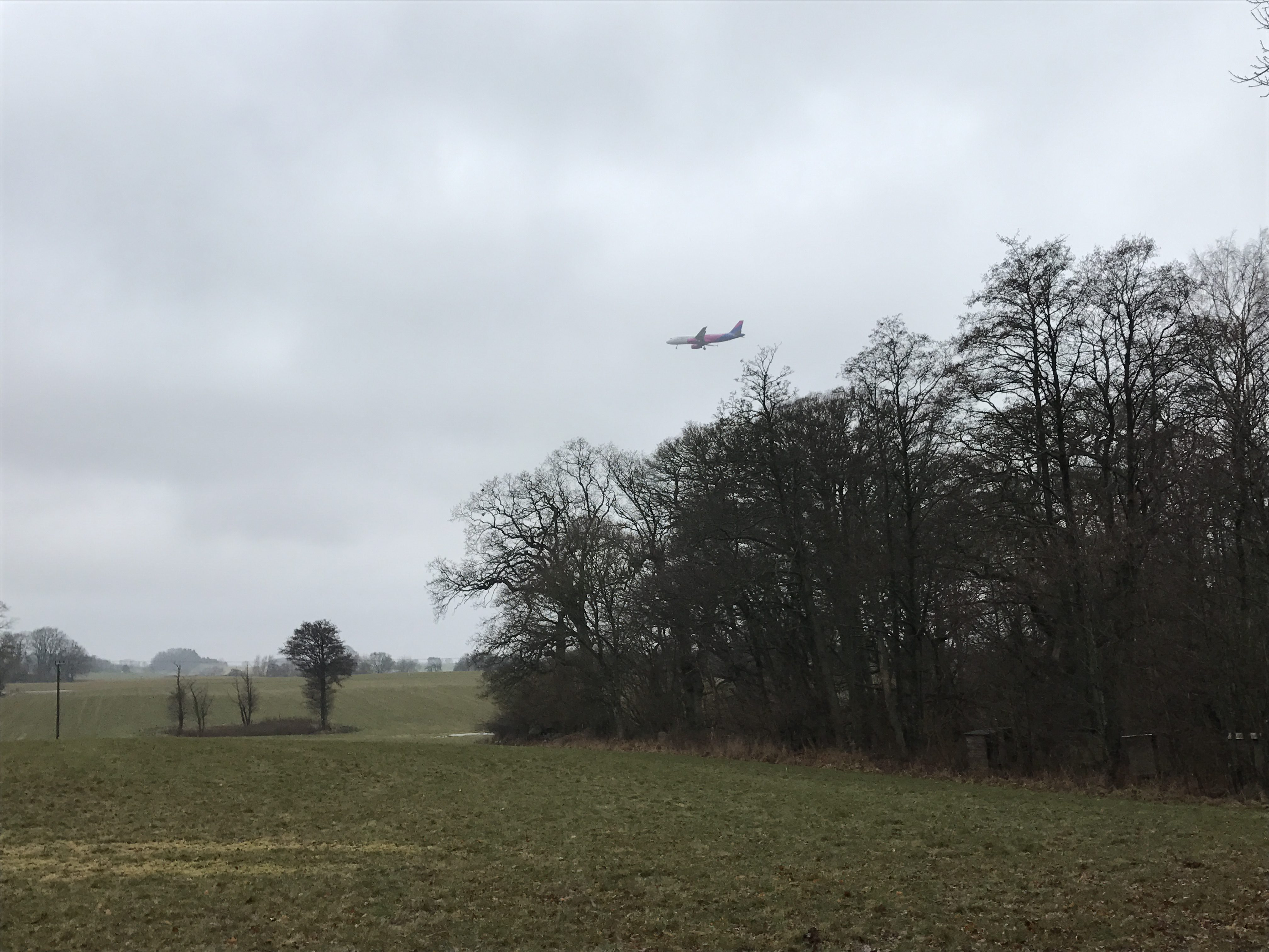 Häckeberga Runt - indflyvning til Sturup