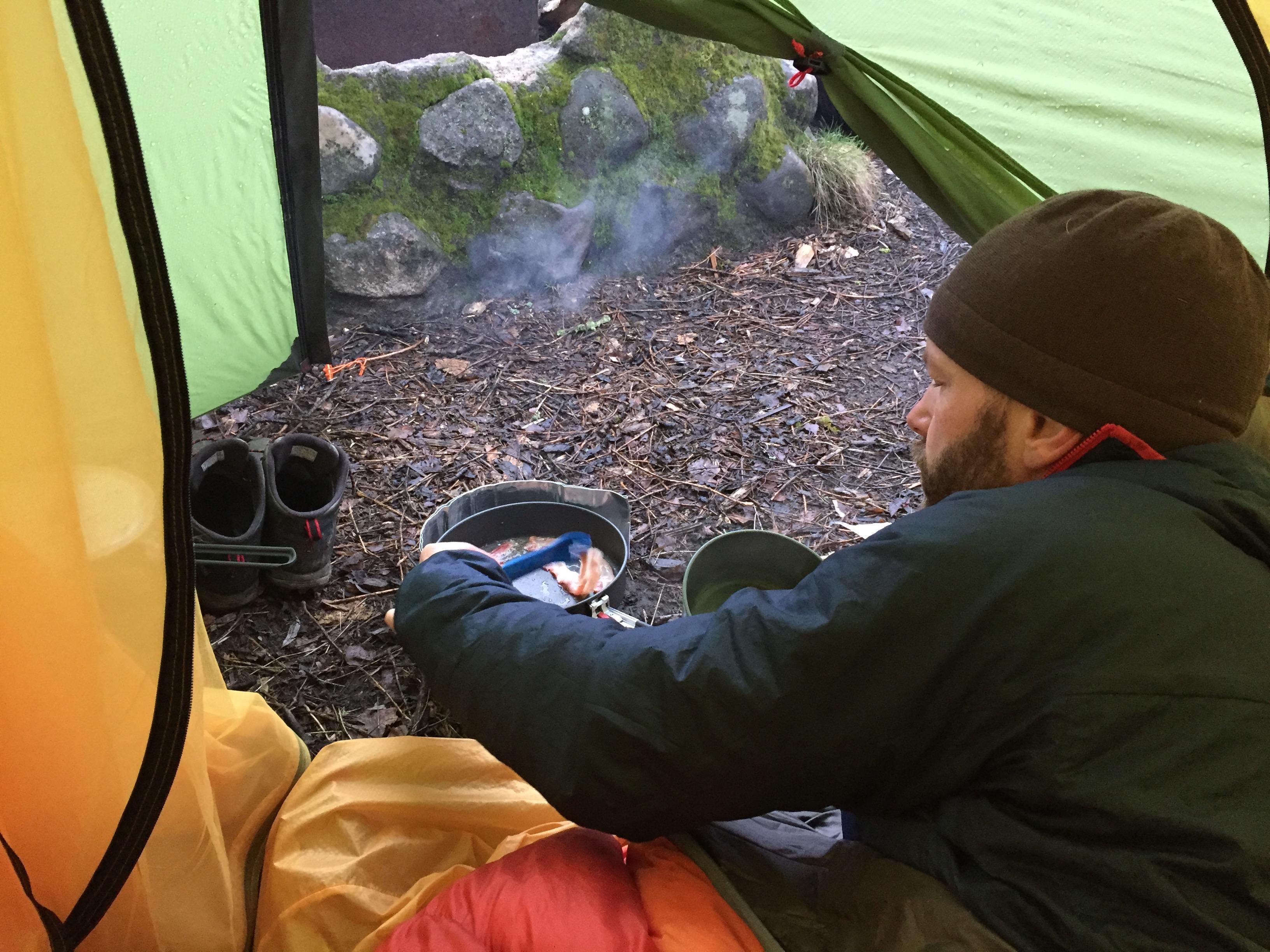 Häckeberga Runt - Knut laver morgenmad
