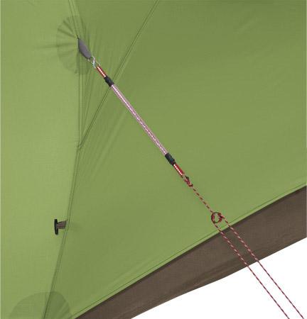 5 tips til at forlænge dit telts levetid - stramme barduner er godt for teltet