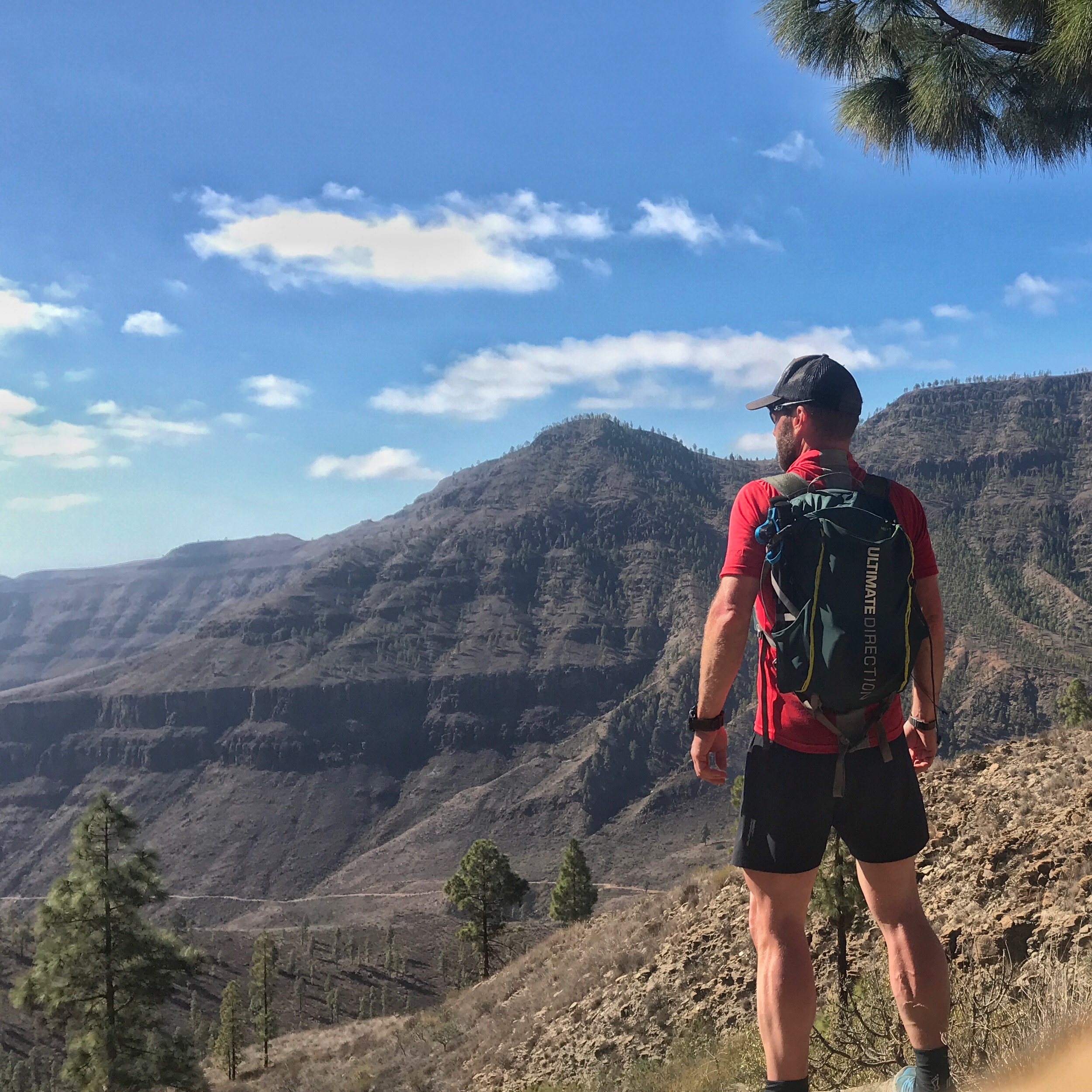 Trailcamp på Gran Canaria