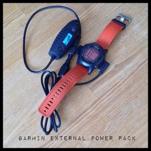 Garmin fënix 2 og External Power Pack