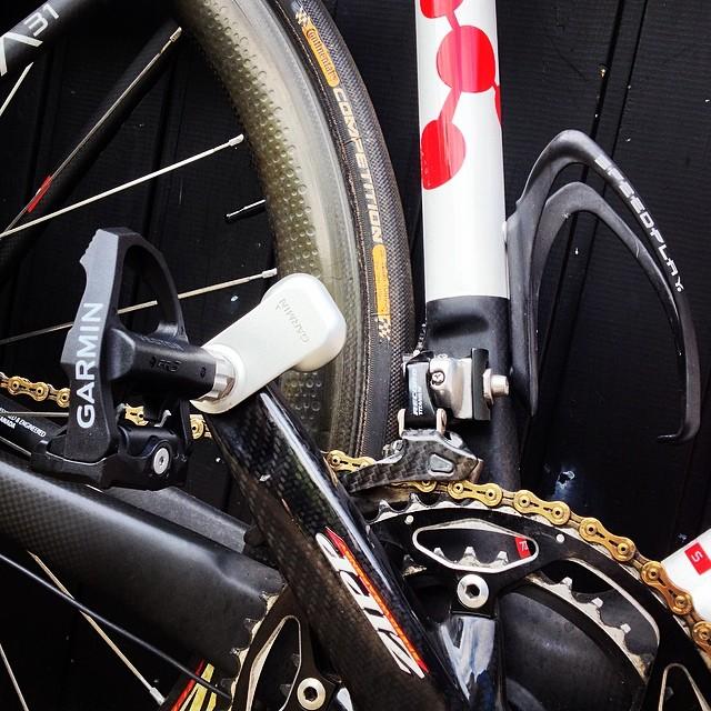 Garmin Vector effektmålings pedaler.