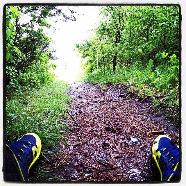 Trail Freak hører hjemme på de smalle spor hvor den excellerer med fantastisk føling med underlaget og glimrende greb i samme.