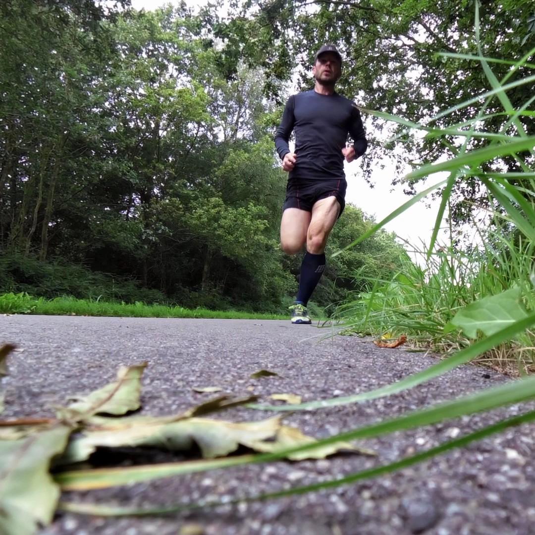 Run Merino strømpen er lige velegnet til asfalt og trail.