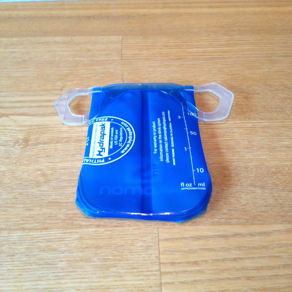 Salomon Soft Cup bagsiden