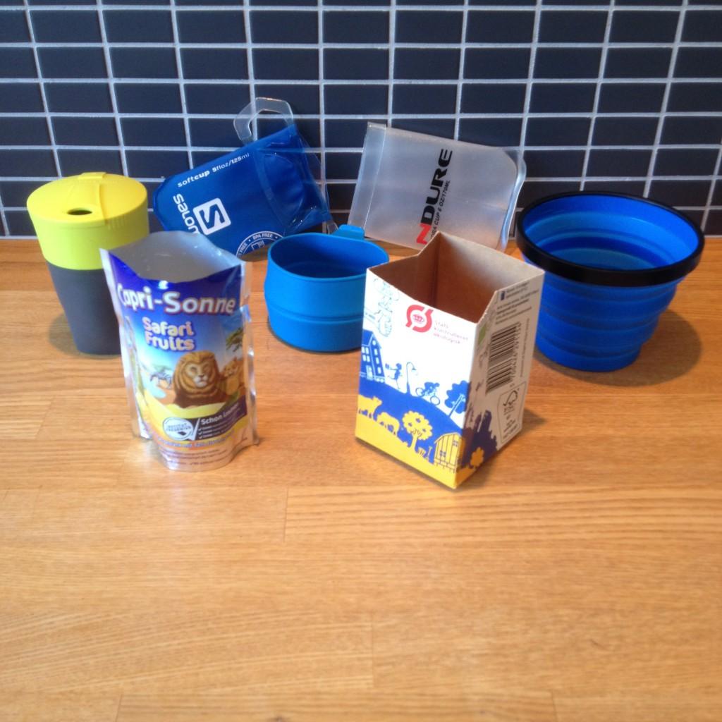 Bredt udvalg af kopper til trailbrug.