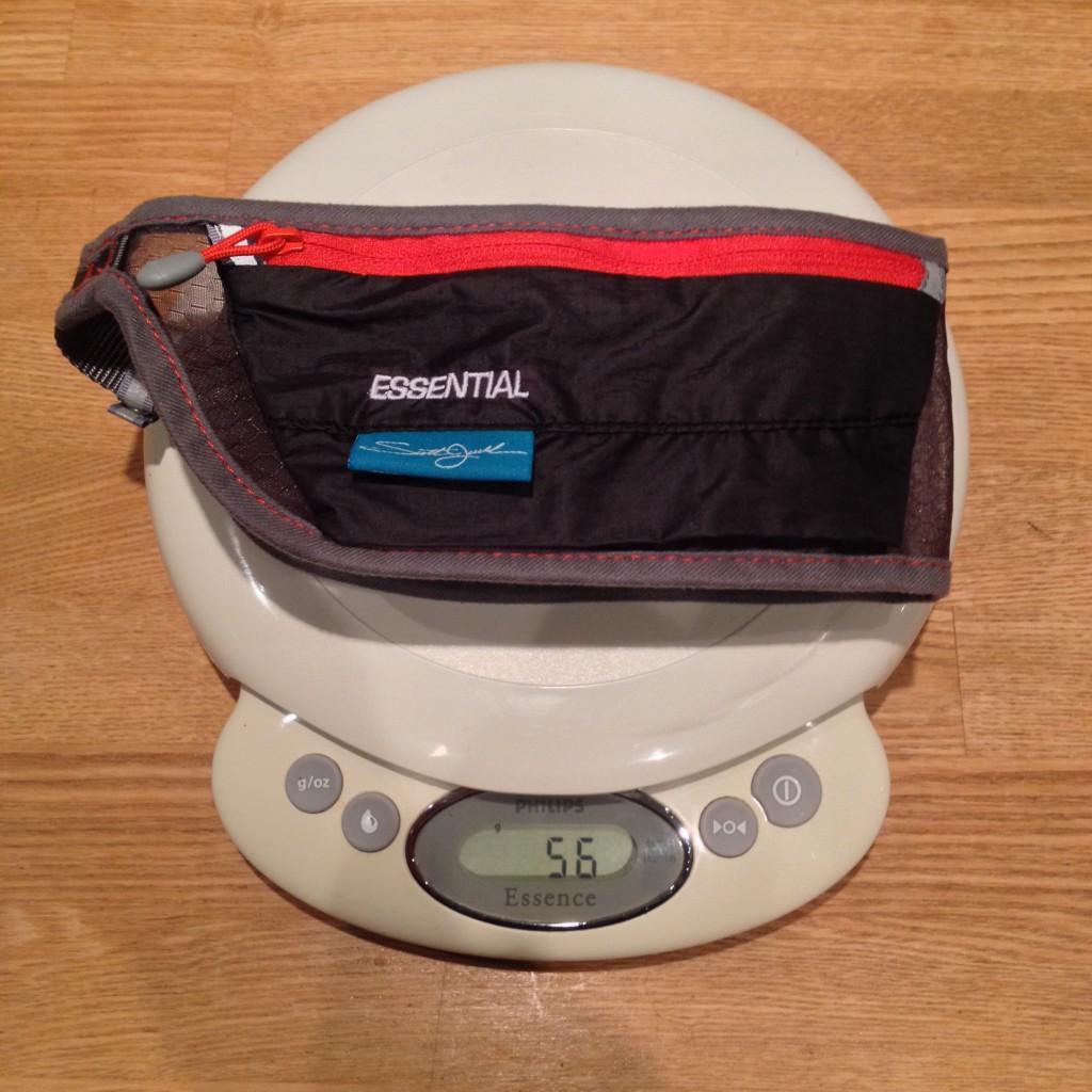På vægten rammer Jurek Essential lige 56 gram.