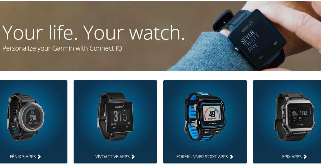 På Connect IQ Store downloader du apps til dit Garmin Forerunner 920XT, fënix 3, epix eller Vivosmart.