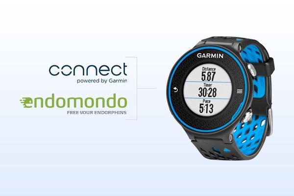 Automatisk synkronisering til Endomondo til Garmin Connect