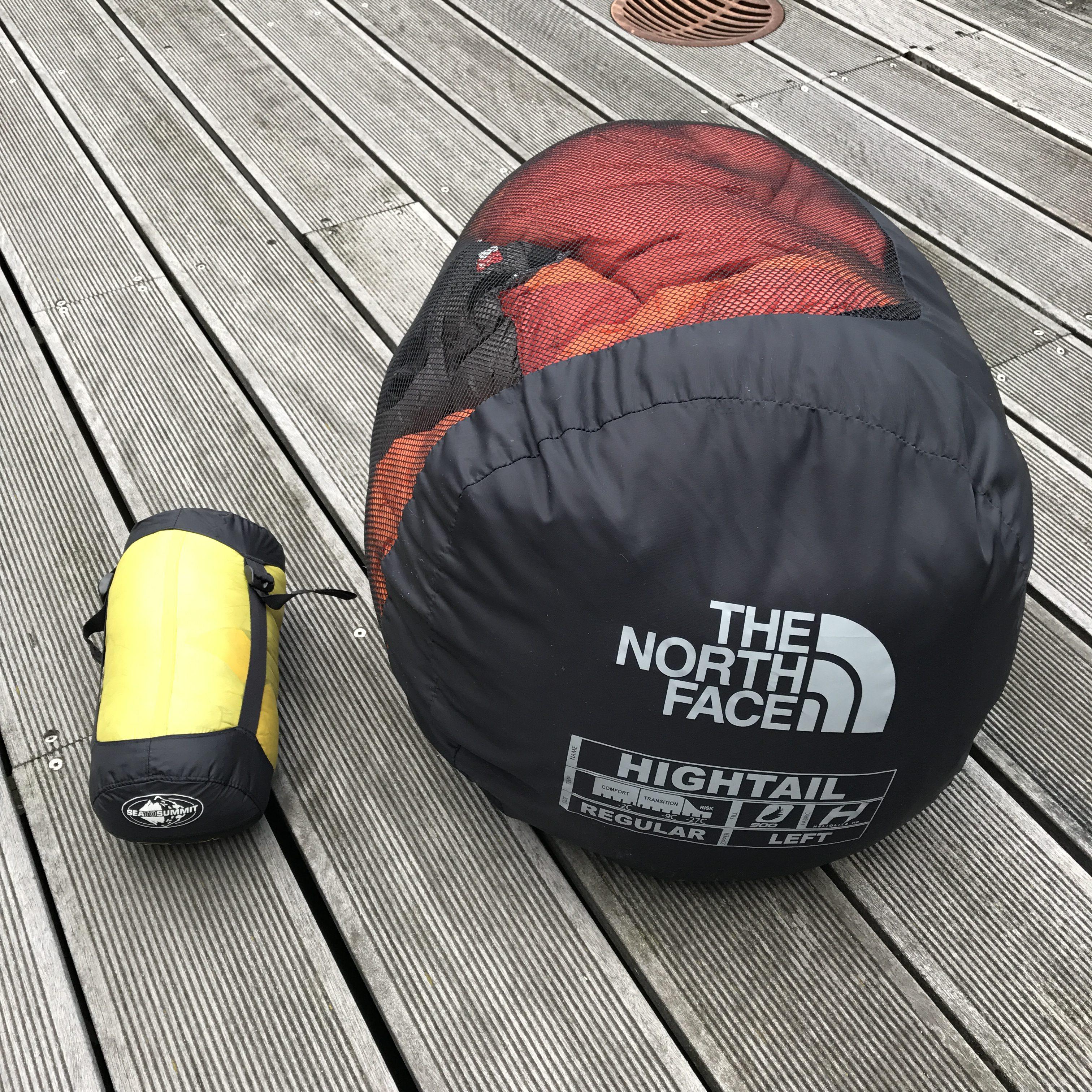 Opbevaring af din sovepose. Pakpose eller net.