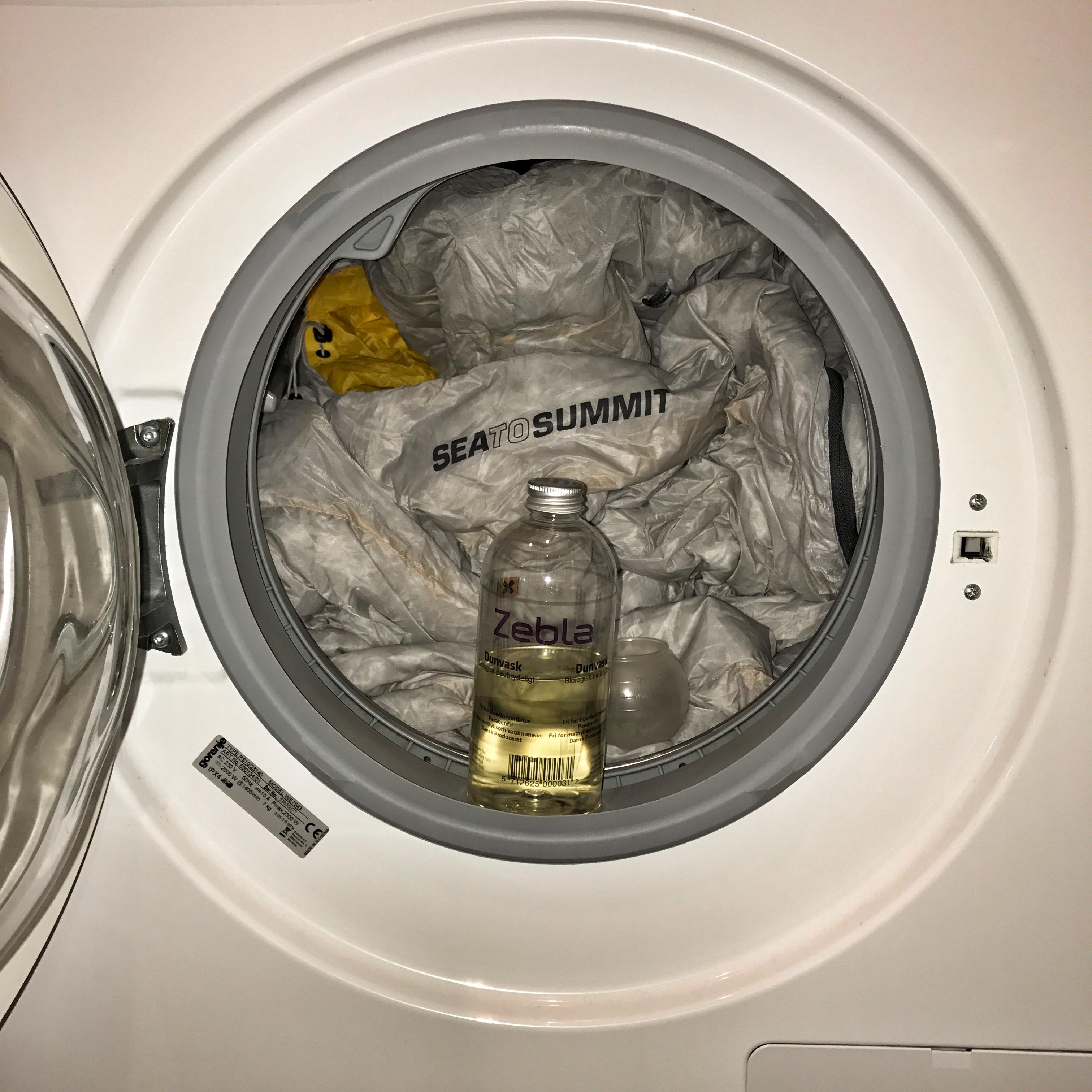 Opbevaring af din sovepose - vask den korrekt når det er nødvendigt.
