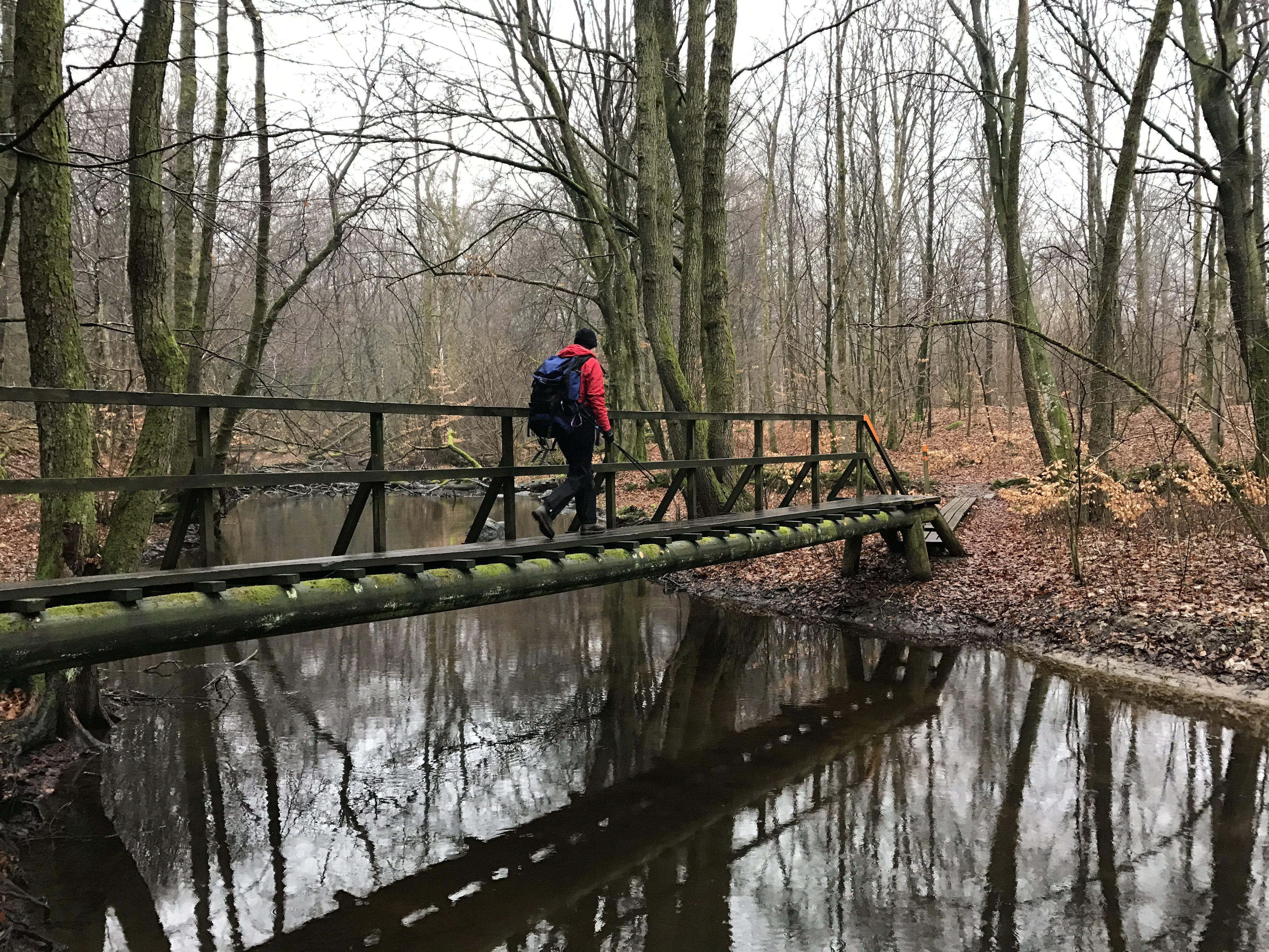 Häckeberga Runt - bro på etape 15