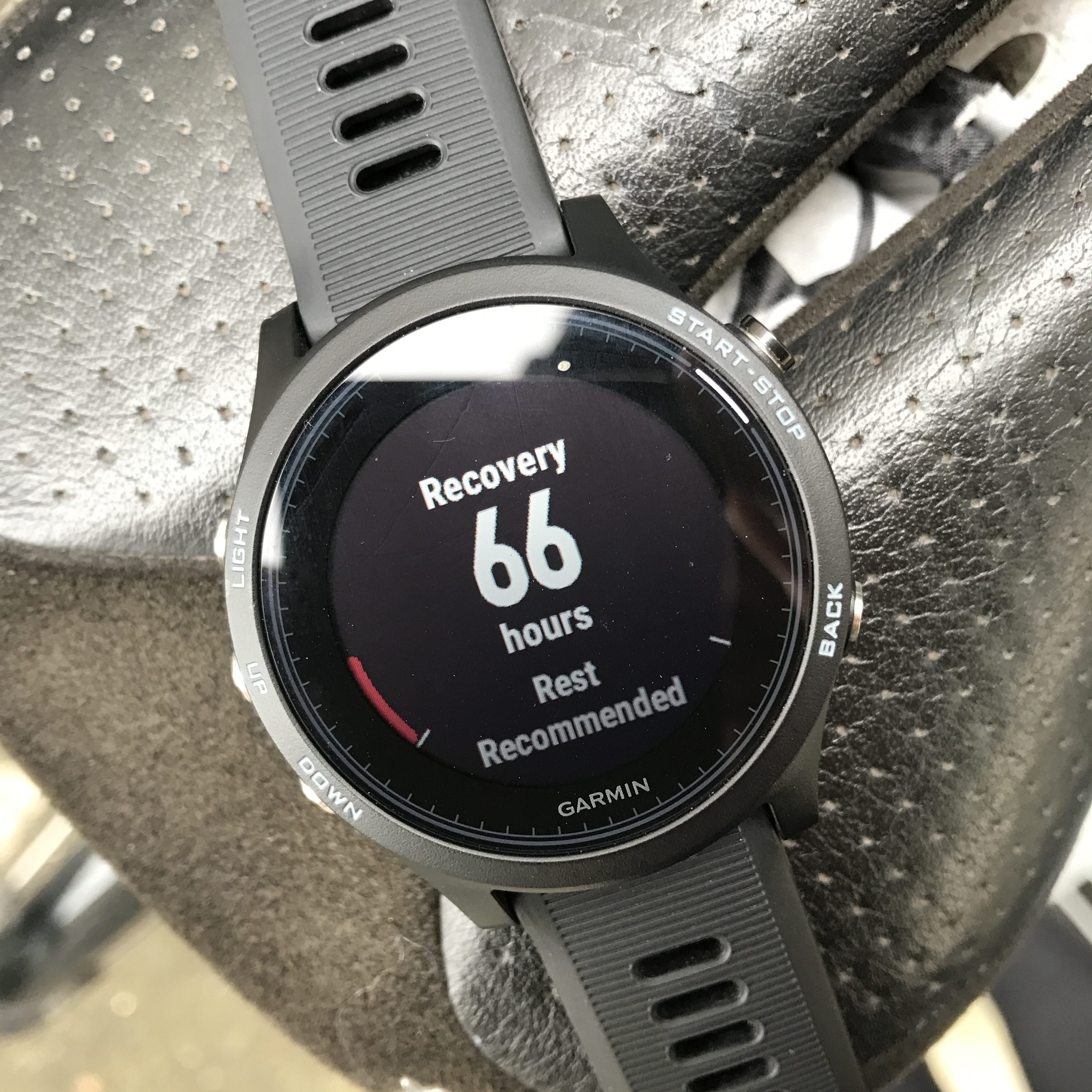 Forerunner 935XT recovery rest recommended