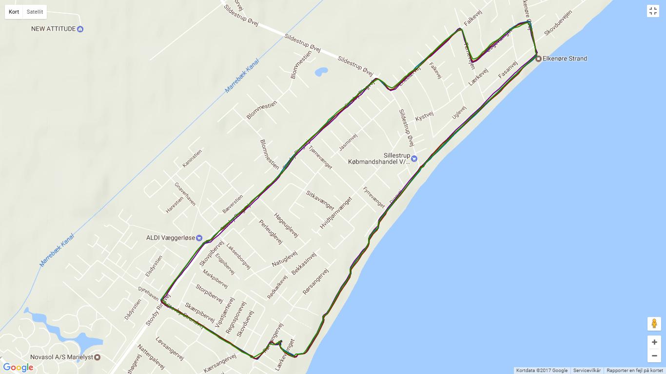 Forerunner 935XT GPS track