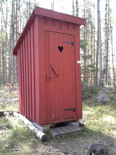 Husk toiletskovlen når du tager på tur! Svensk das.