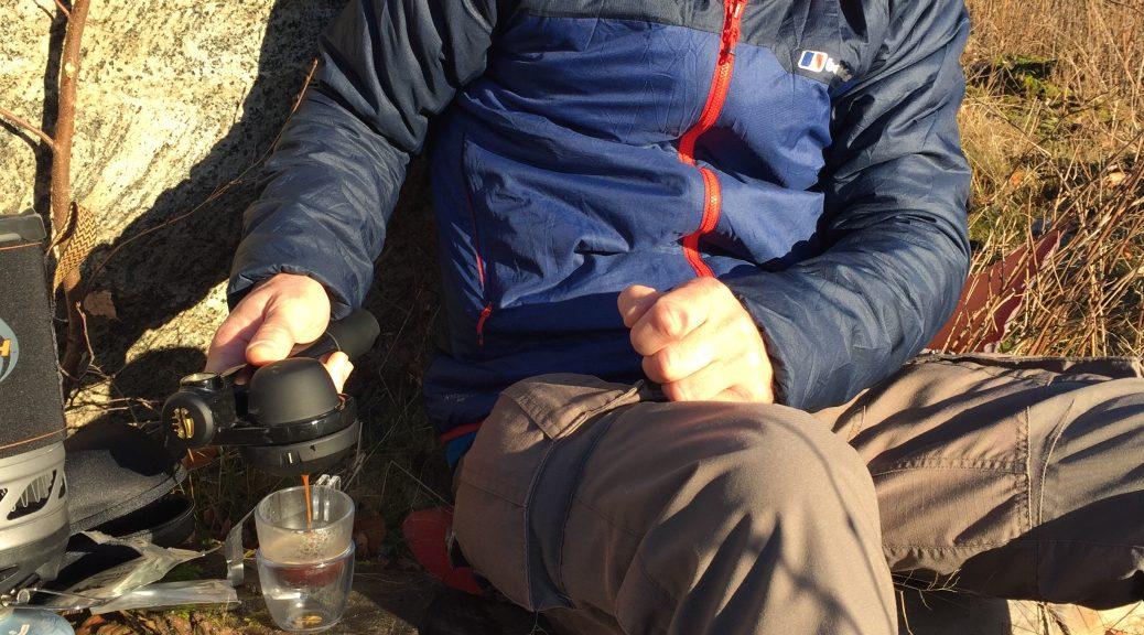 Kaffe på vandre- , kano- eller shelterturen.