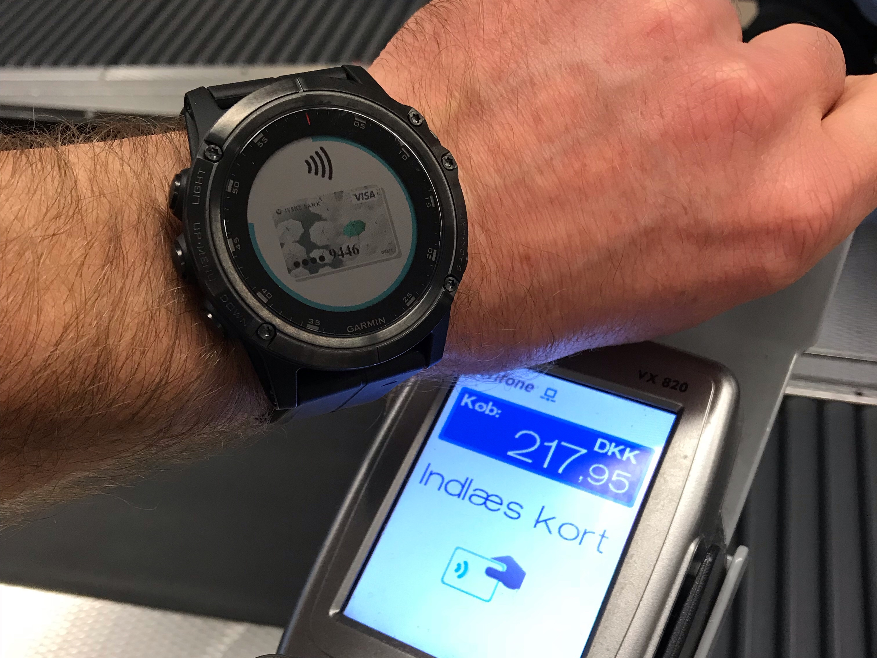 Fënix 5X Plus Garmin Pay