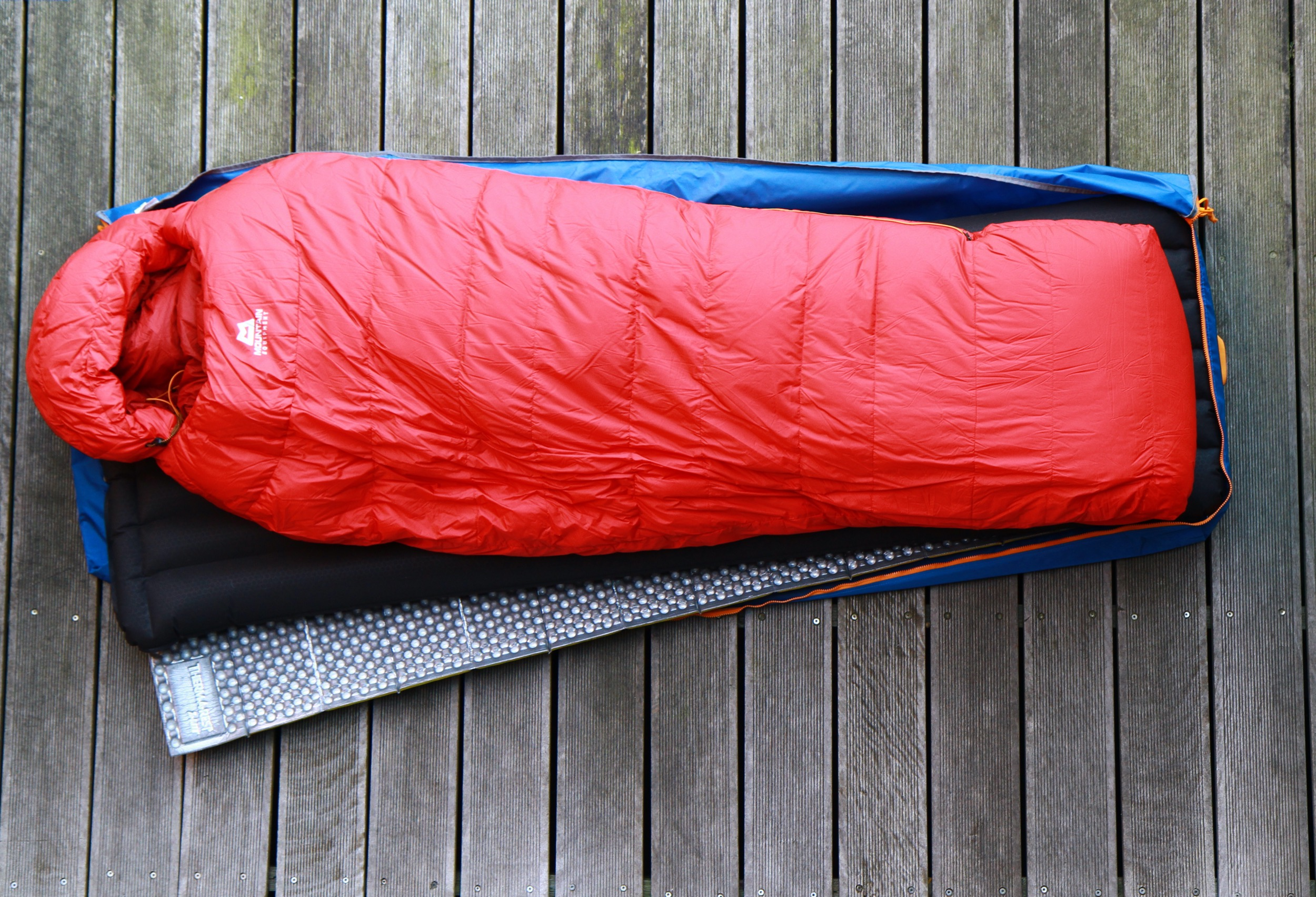 Piteraq Arctic Bedding HD Thermarest Z-Lite SOL Exped Downmat XP9 m. Schnozzel Pump Bag UL M Mountain Equipment Glacier Expedition