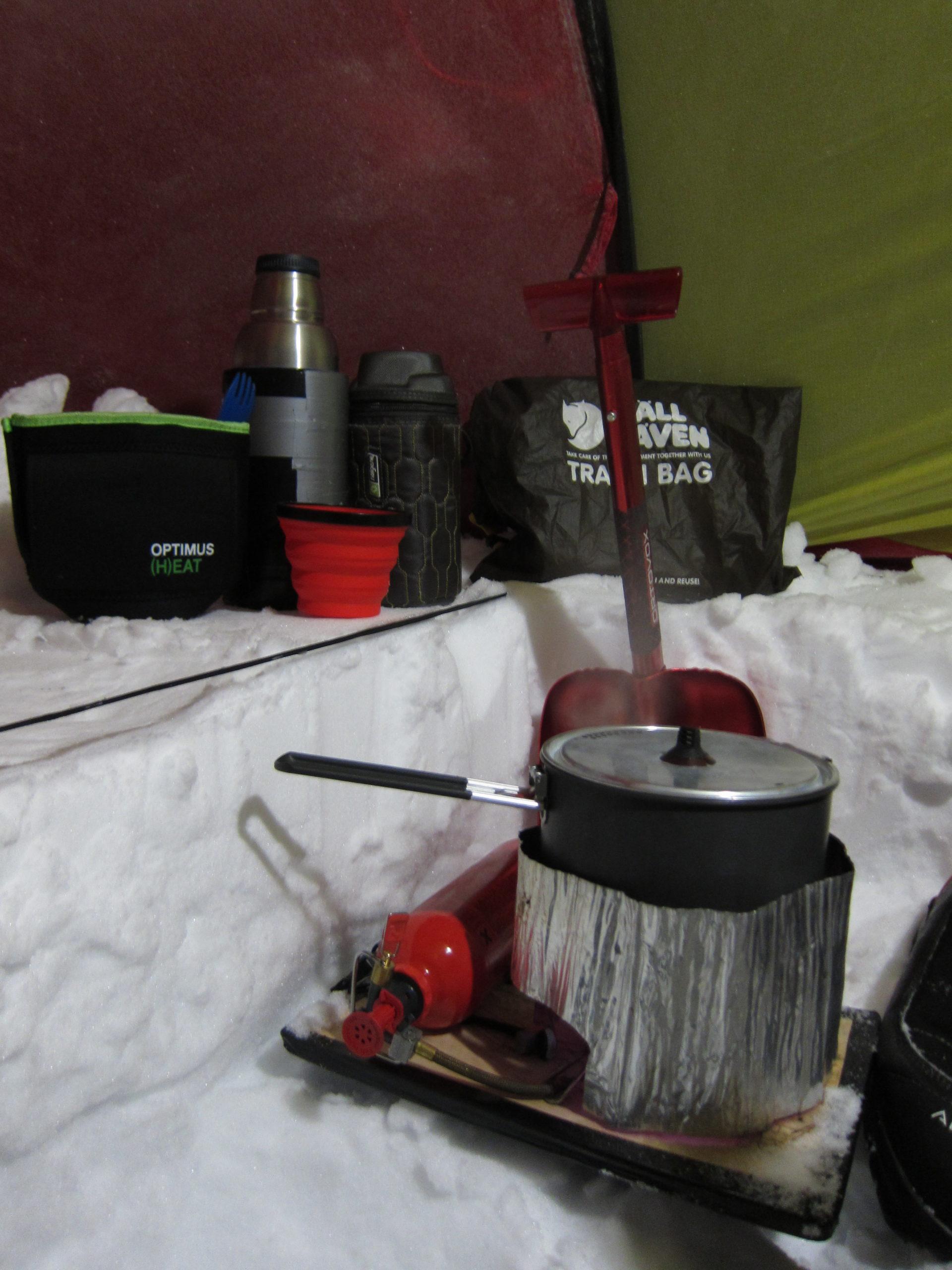 14 tips til teltning på vintertur